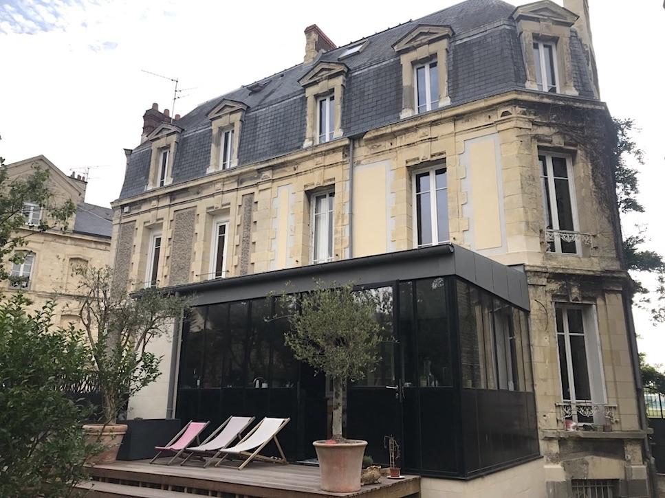extension maison ancienne GreenHouseProject en Normandie