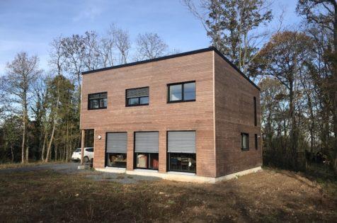 Maison passive bois