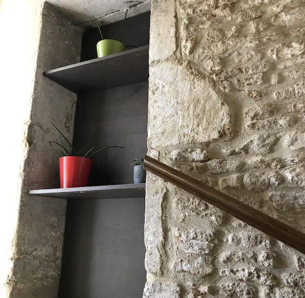 Rénovation d'un gîte